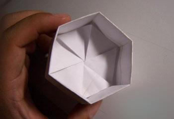 怎么折叠礼品盒 商羽介绍折叠六角礼品盒的方法步骤