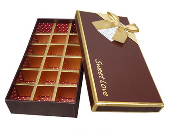 高貴典雅的熱銷款巧克力包裝盒