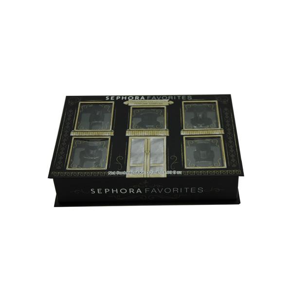 書本式指甲油套裝盒